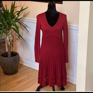 Christmas dress! Red knit